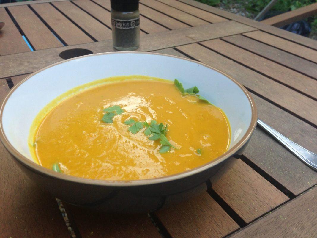 Hokkaido Squash Soup