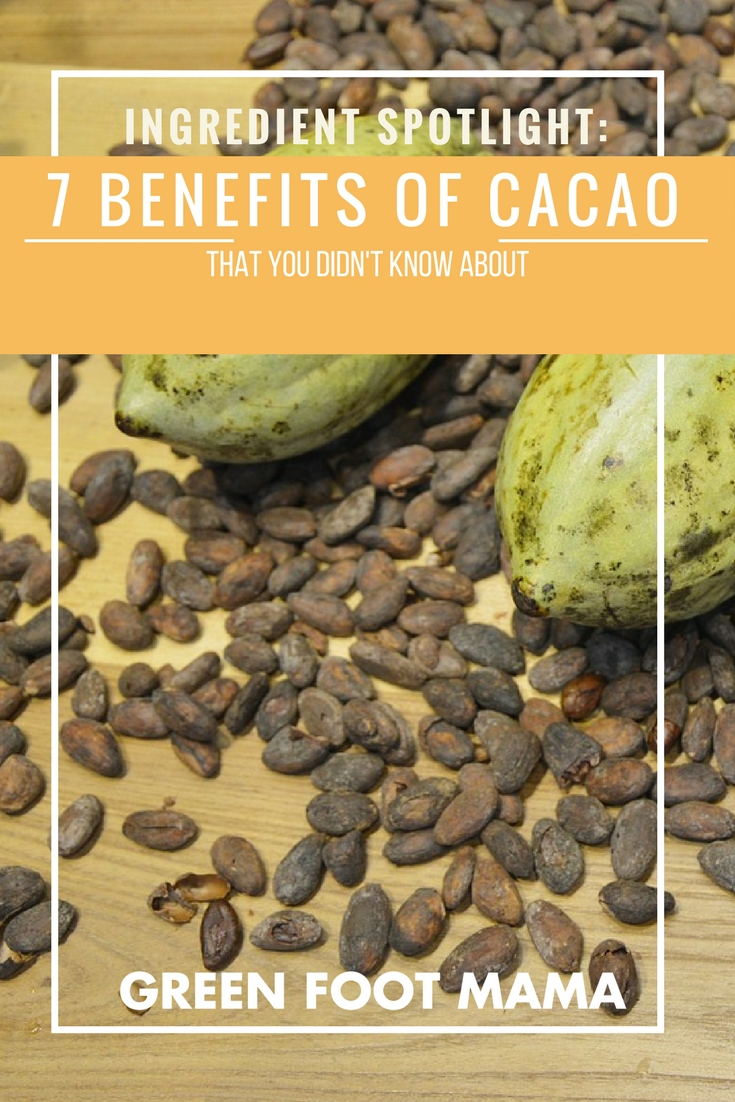 7 Little-known Benefits of Cacao
